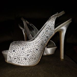 Candies size 7 high heels
